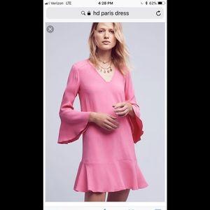 Anthropologie HD in Paris Bell sleeve dress